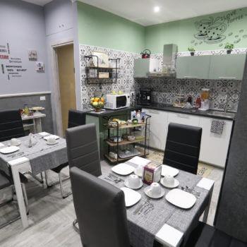 Sala Colazione Bed and Breakfast Reggio Calabria Centro La Casa Di Luce